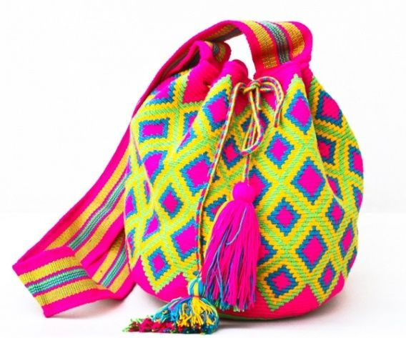 Wayuu Mochila bag Windows Future - CaritoCaró