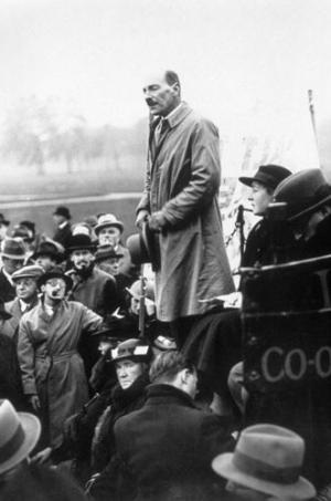 Clement Attlee- my genuine political hero.