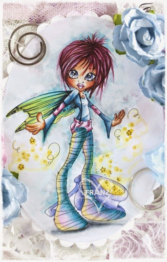 Copic Marker Europe: Saturated Canary: Pixie Dust
