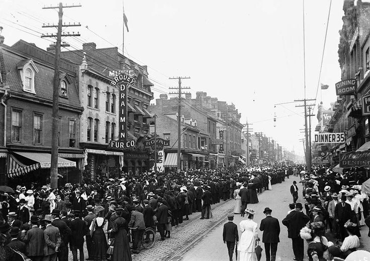 The origins of Labour Day in Canada can be traced back to December 1872 when a parade was staged in support of the Toronto Typographical Union's strike for a 58-hour work-week. Description from en.wikipedia.org. I searched for this on bing.com/images