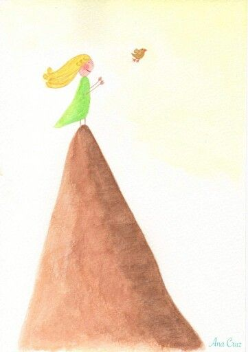 Volar #dibujo #acuarela