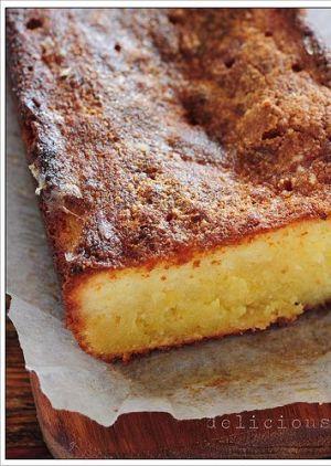 Delicious lemon birthday cake