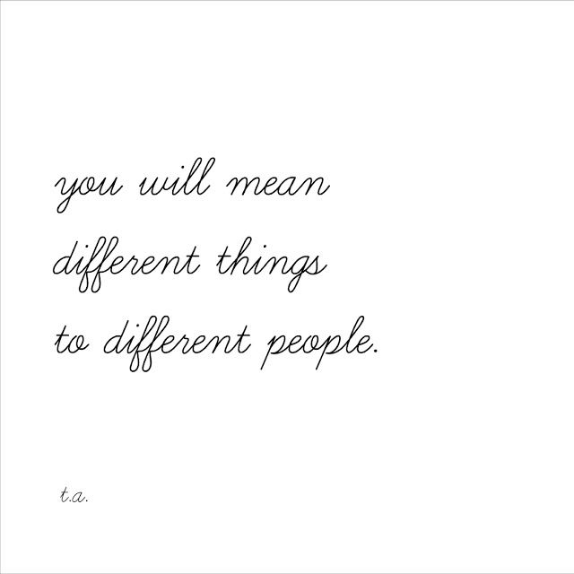 These Words: in difference.