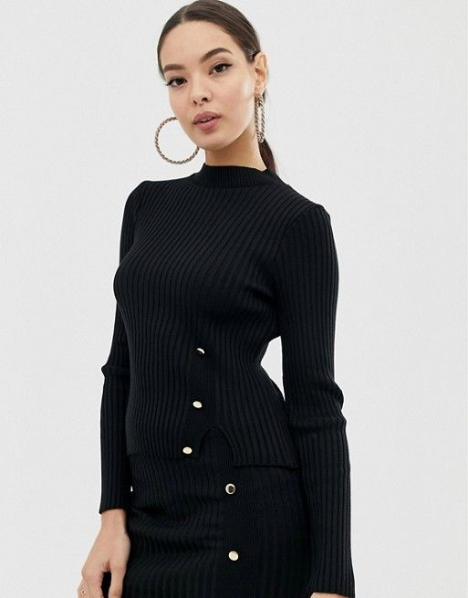 66f68e06c5 Shop the latest trends and styles with ASOS. Black Two Piece