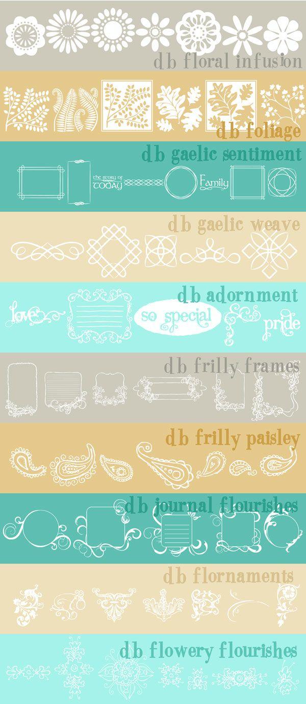 top ten decorative typographical dingbats!