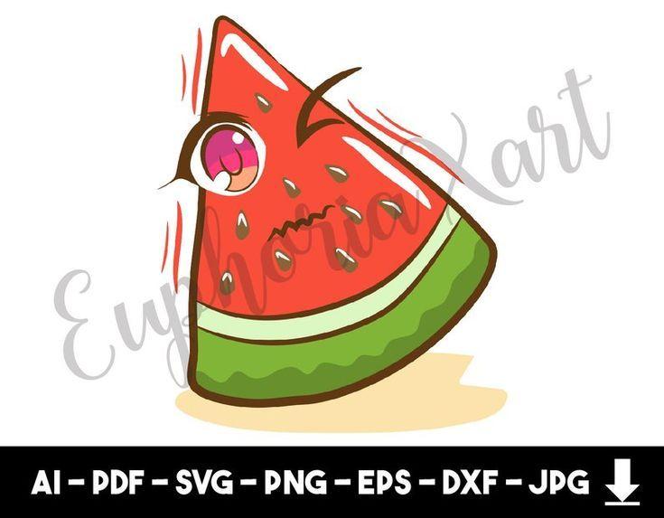 Wassermelone Svg Wassermelone Cricut Wassermelone Clipart Wassermelone Cartoon Wassermelone Slice Glitter W Watermelon Cartoon Clip Art Watermelon Clipart