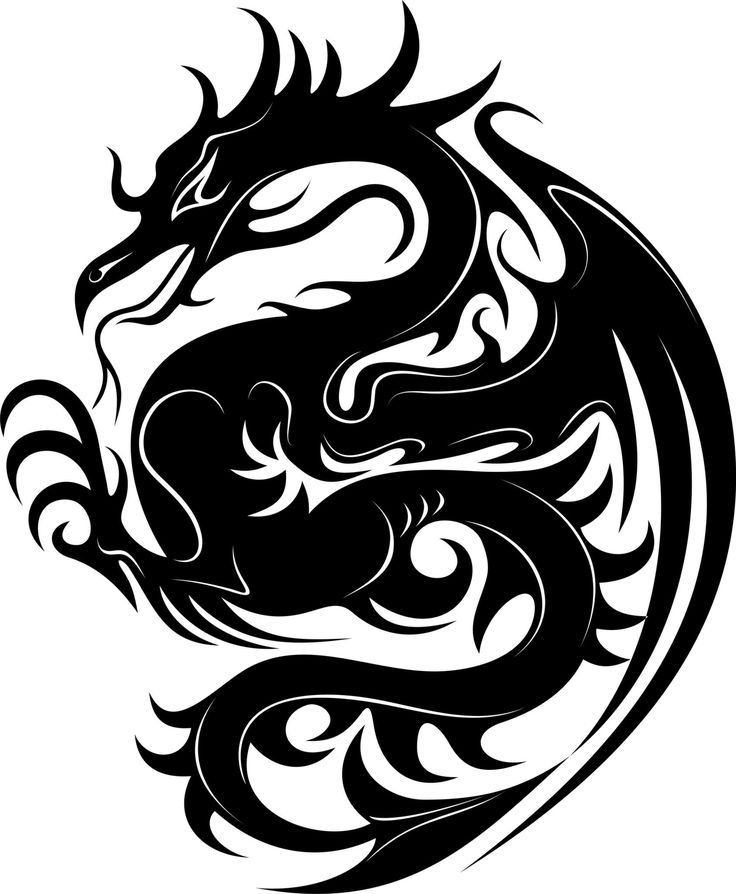 50 Best Dragon Stencil Designs Images On Pinterest