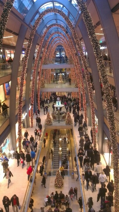 That's a giant mall! The Europa Passage in Hamburg, Germany