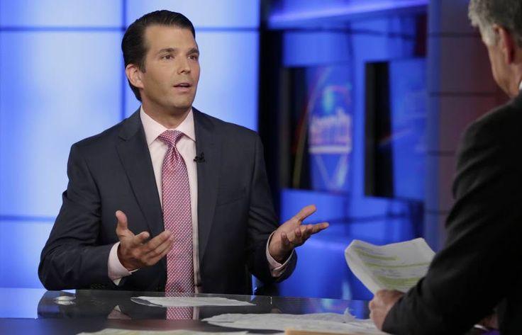 """Trump Jr. exonerar a su padre y afirma que la reunión impulsada por el Kremlin """"fue la nada""""    El hijo mayor del presidente asegura en un..."""