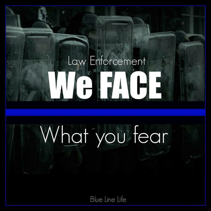 So true - I could never be in law enforcement as a first responder.