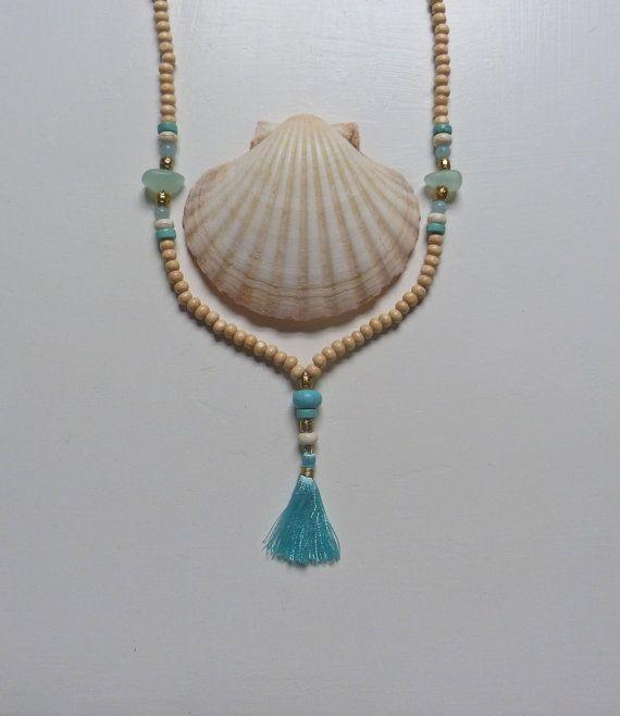 yoga by the sea   sea glass turquoise aqua by beachcomberhome, $29.00