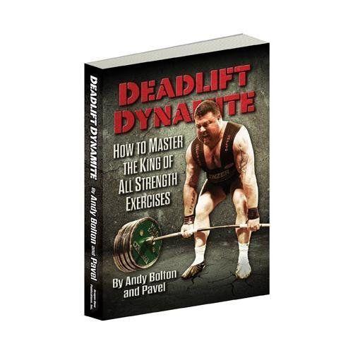 Deadlift Dynamite: How to Master the King of All Strength Exercises (Deadlift Dynamite) by Pavel Tsatsouline, http://www.amazon.com/dp/0938045822/ref=cm_sw_r_pi_dp_hZpXrb11J9Z8N
