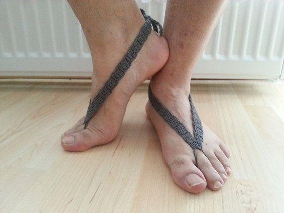 Flip Flop Men Barefoot Sandals  Barefoot Sandals for men  | Etsy