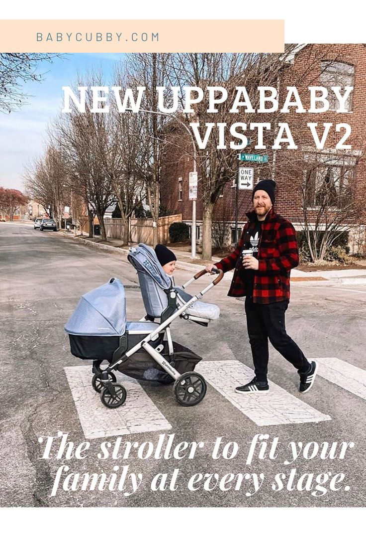 NEW UPPAbaby VISTA V2 The stroller to fit your family at