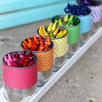 Do you have some tin cans...are you about to recycled them? STOP...DON'T THROW THEM away until you check out our Tin Can DIY Project Collection! Be Inspired
