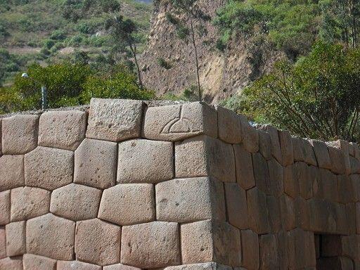 Ancient Stone Wall : This stonework at tarawasi in limatambo peru is a good