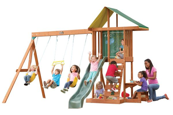 Springfield II - Products | Big Backyard Play Set