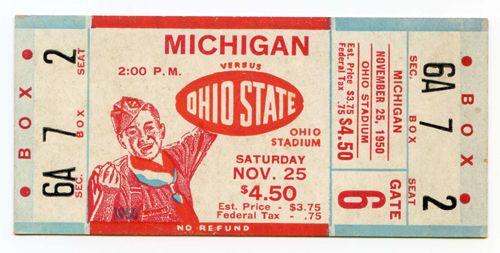 Vintage Football Programs/Tickets - Net54baseball.com Forums