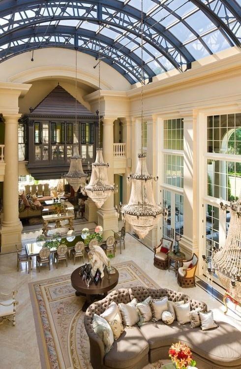 Grand Italiannate villa. A private home in Minnesota - TEA2 Architects.