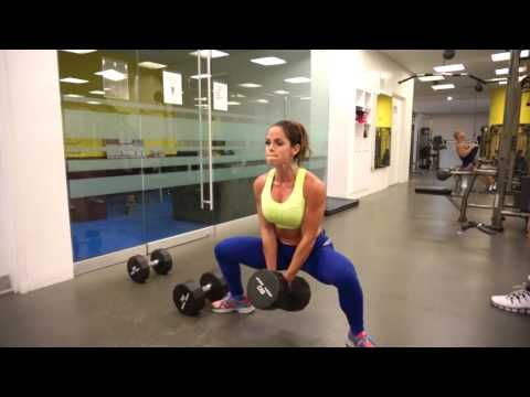 MICHELLE LEWIN - Legs and glutes - YouTube