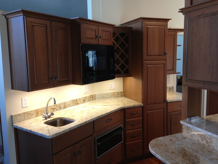 Picture Collection Website Dynasty by Omega kitchen cabinets from Ragonese Kitchen and Bath This kitchen presented challenges