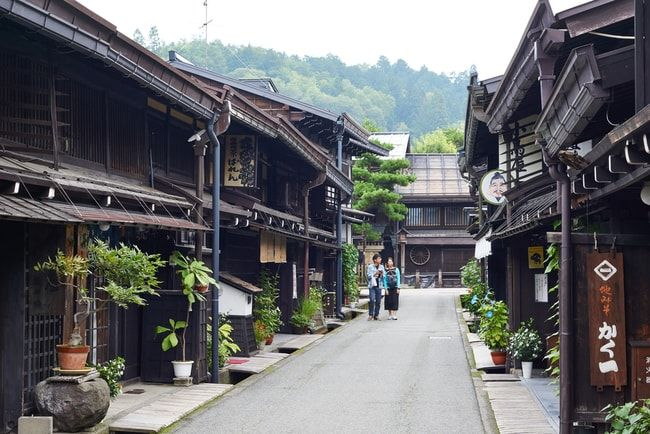 The well preserved old town of Hida-Takayama | © Tanwa Kankang/Shutterstock