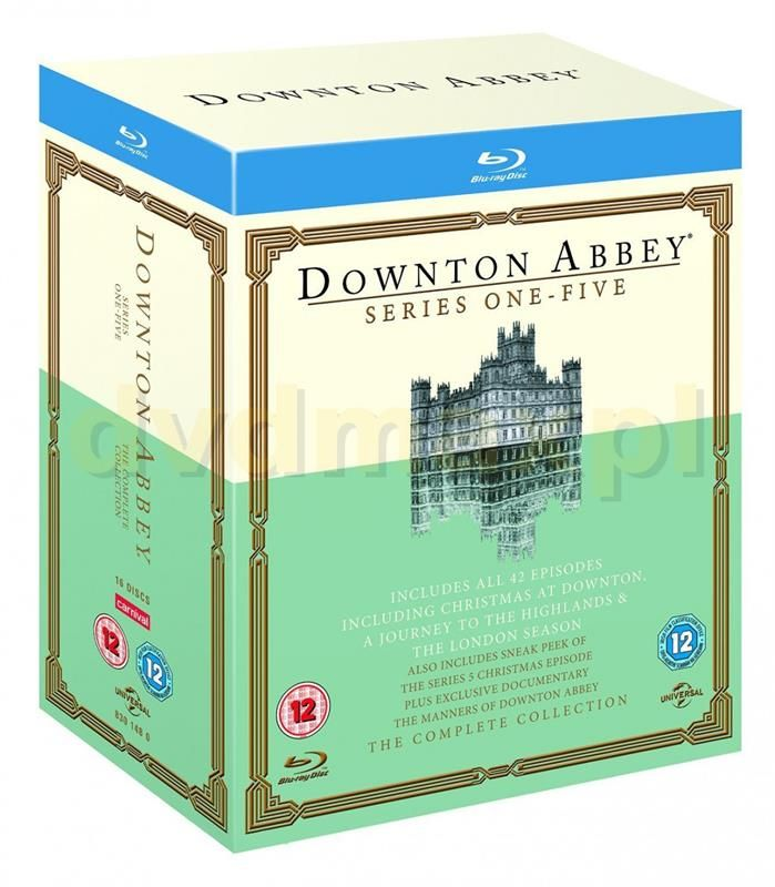 Downton Abbey - Series 1-5 (Blu-ray) ⏩ - już od 399,99 zł recenzje i opinie, porównanie cen w 2 sklepach ⏩ Zobacz najlepsze Dramaty w kategorii Seriale na Ceneo.pl