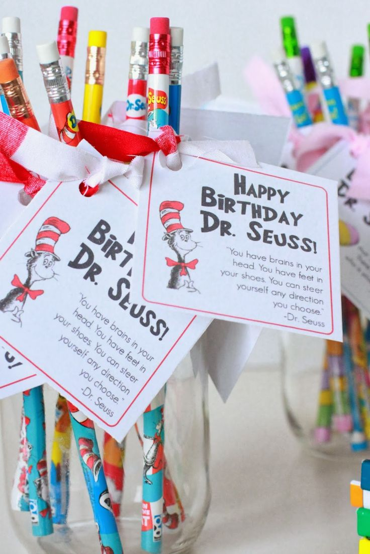 Just Another Day in Paradise: Happy Birthday Dr. Seuss Tags {printable}