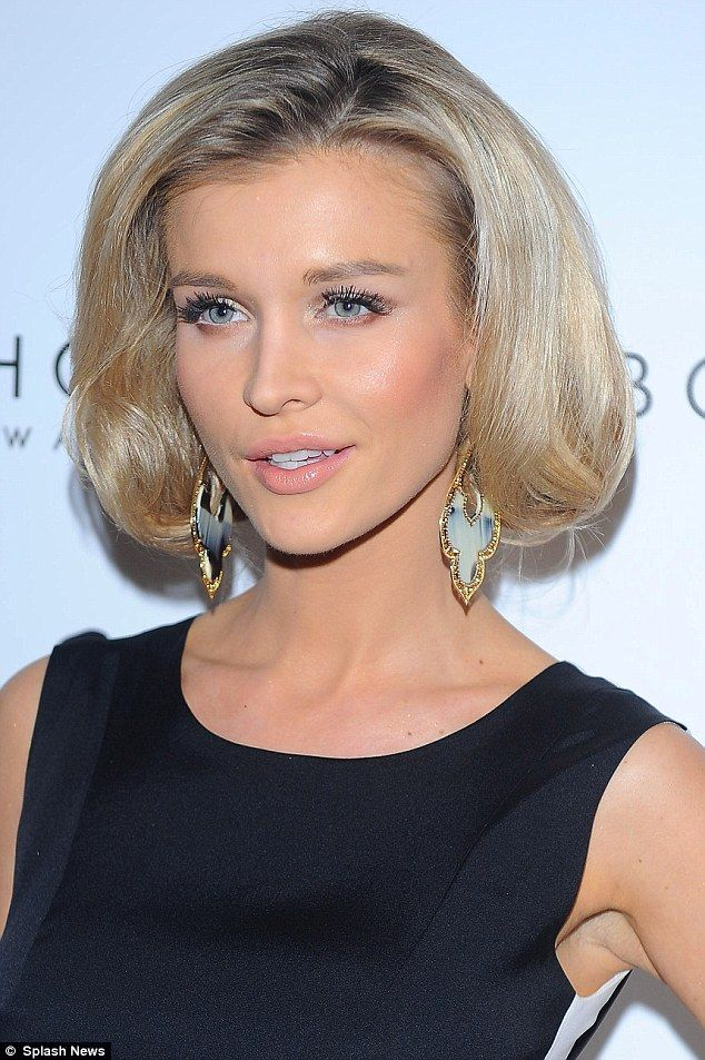 Joanna Krupa... pretty up-do, and lovely minimal natural looking makeup!!