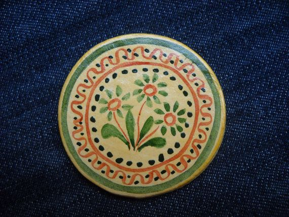 Romanian traditional motivesflowersmagnets by DeniseClemenco, $10.00