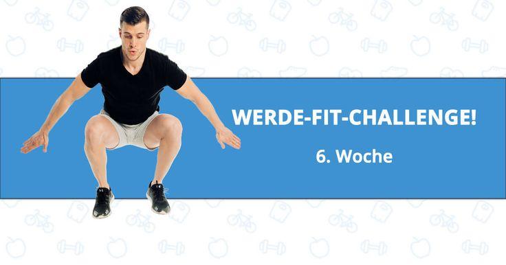 """Hey ihr Lieben!!!👋🙂🙂👋  Seid ihr schon startklar für Woche 6. der """"Werde-FIT-Challenge""""??? 🔥🚀💪 Euch erwartet wieder eine spannende und intensive Trainingswoche!!! 💪😉 Aber wir geben nicht auf, nicht wahr??!! ✊💪Wir geben Vollgas und bringen unsere Fettpölsterchen so richtig ins Schwitzen!!! 🔥🔥  Seid ihr bereit??? 🙌😉  LOS GEHT'S!!!  💪💪😉"""