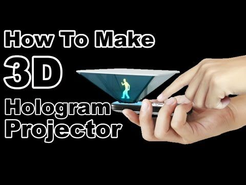 How To Turn a Smartphone Into a 3D Hologram Projector Using a CD Jewel Case