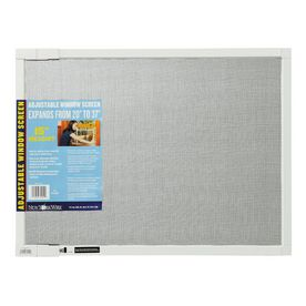 New York Wire�15-in x 37-in Adjustable Window Screen White