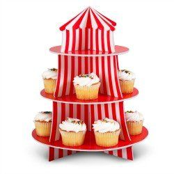 I don't even own this cupcake stand yet and I already have a huge desire to make circus themed cupcakes.