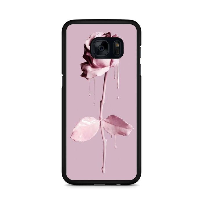 Rose Background And Pink Roses Wallpaper Samsung Galaxy S7 Edge Case | Republicase