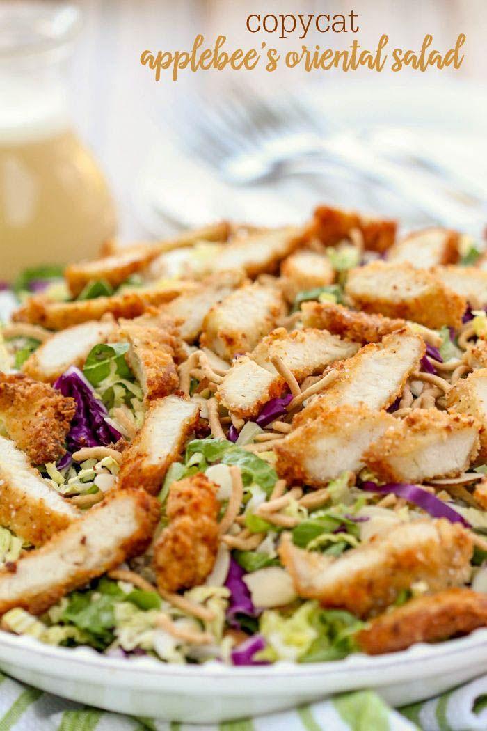 Applebees Oriental Chicken Salad  Recipe  Best Salad -7290