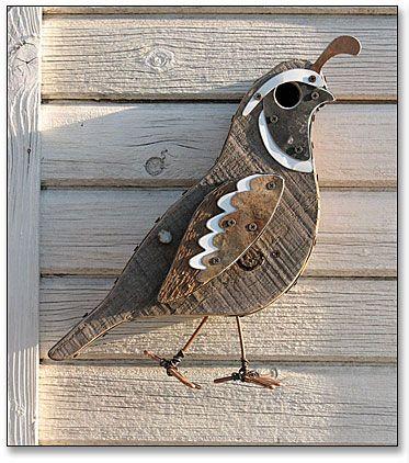 California Quail Birdhouses • FOWL PLACES
