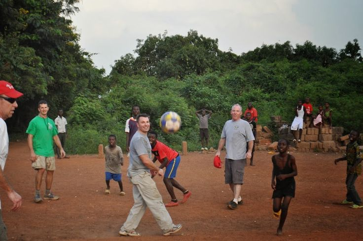 Thank you to Tire World customer, S. Essey, for taking these great pictures on his humanitarian trip to Ghana.  He brought over a few Tire World soccer balls for some children & it looks like they are having a great time!