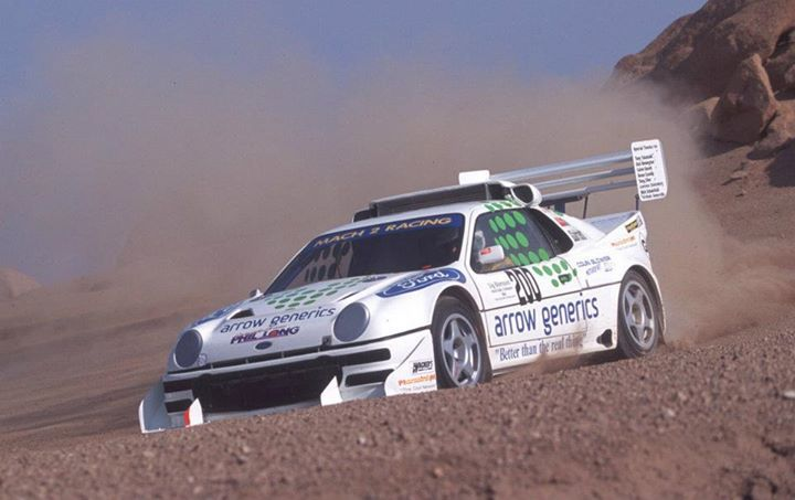 Ford RS200 Pikes Peak race car