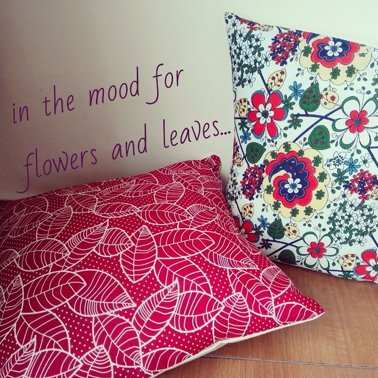 Red Leaves and Ayumi  Red Leaves (right) IDR 60,000. Ayumi (left) IDR 50,000. Cushion covers only.  #canvasmadness #cushioncover