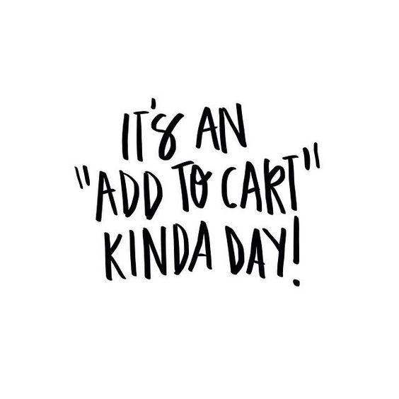 Nothing a little retail therapy can't fix!