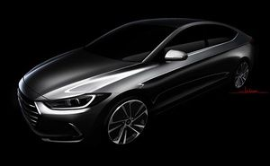 Hyundai Motors India has revealed the first teaser image of the new sixth-generation Elantra sedan. The new Elantra will feature the dynamic style cues with modern looks, the company has not revealed the official launch date of the car but it is expected to be showcased at the Los Angeles Auto Show in the month of November 2015.