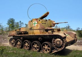 38.M Toldi I Light Tank (Hungary)