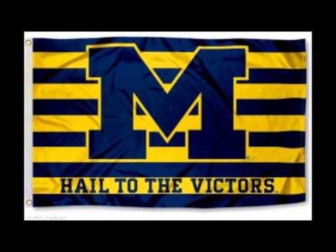 Hail to the Victors! (Michigan fight song)Lyrics in description - YouTube This song describes me because I like Michigan football and basketball and when I watch it's normally with my family so it's real fun to get to watch them together.