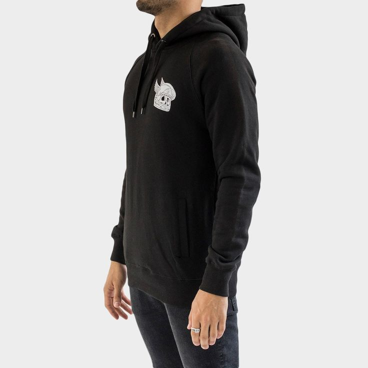 The 'Death Rider' design - Black - Quality hoodie from the Ride or Die Collection. Designed by P&Co.
