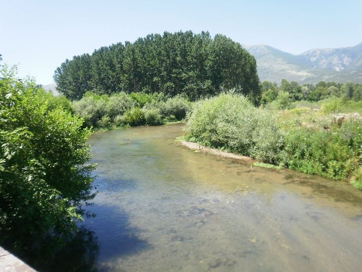 Όμορφη και παράξενη Πατρίδα ...: Ο ποταμός Αγγίτης
