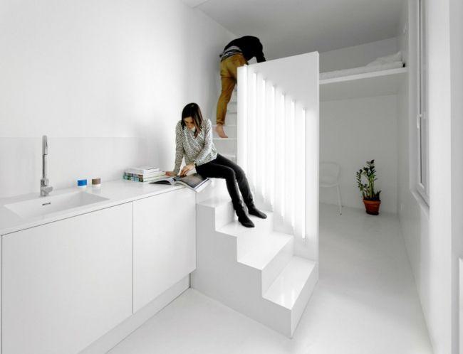 Die besten 25+ kleines Studio Ideen auf Pinterest kleine Wohnung