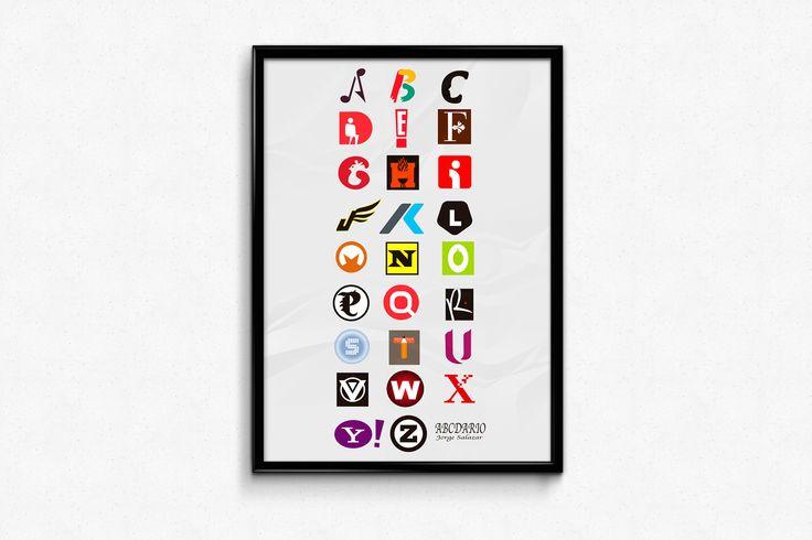 abcdario tipografico.
