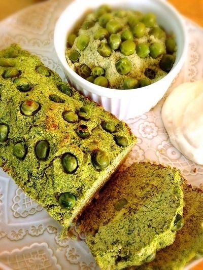 ほうれん草とグリーンピースのおからケークサレ。 by Misuzuさん ...