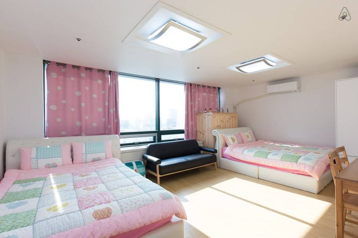 Check out this awesome listing on Airbnb: [1min@Hongdae stn]Two queen beds-E - Apartments for Rent in Mapo-gu